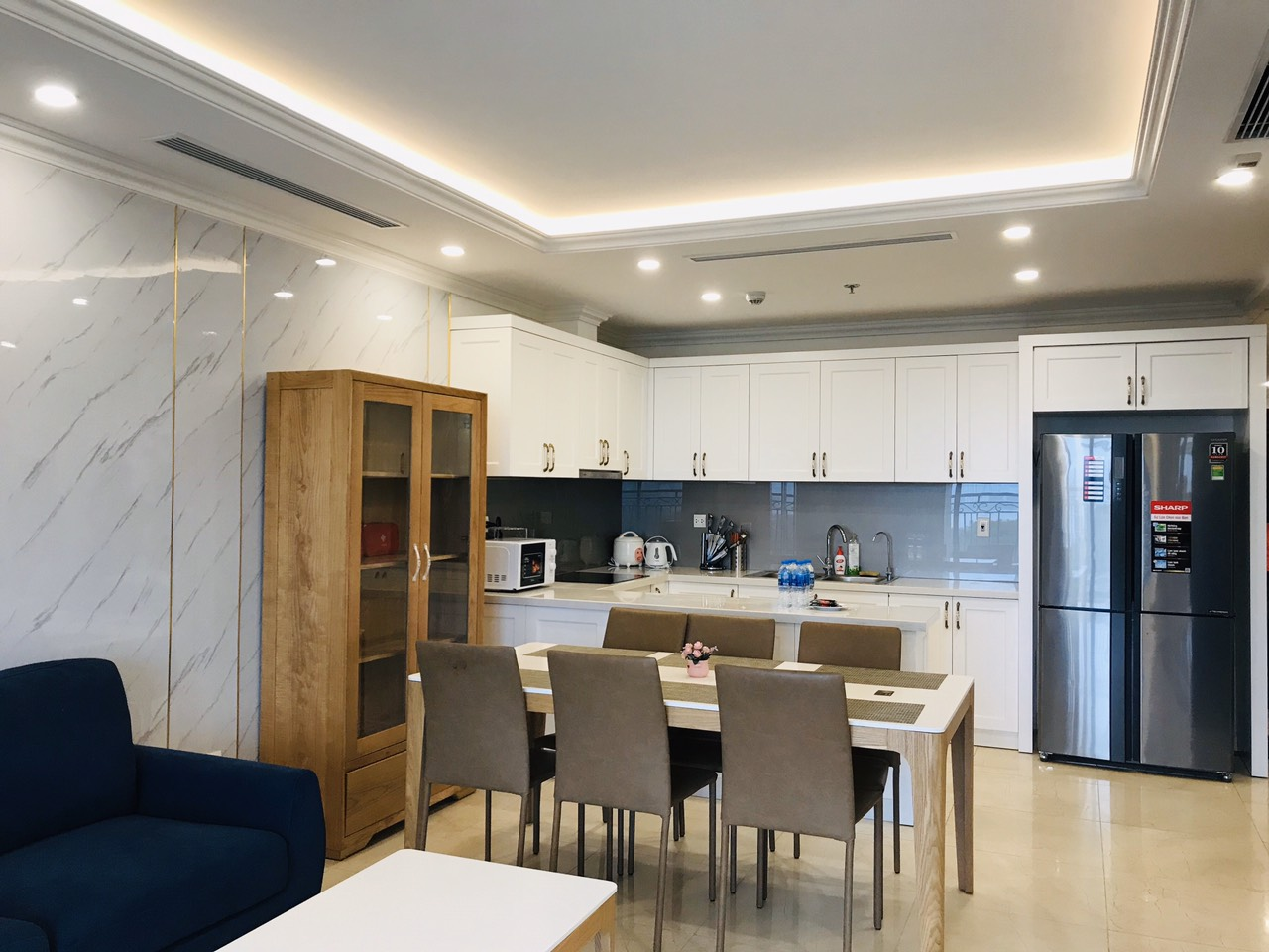 3 bedrooms apartment for rent in D;.le roi soleil, Tan Hoang Minh Group 6