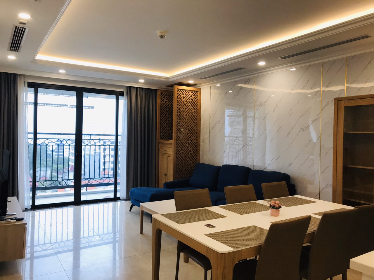 3 bedrooms apartment for rent in D;.le roi soleil, Tan Hoang Minh Group 7